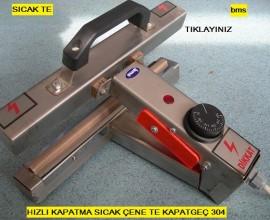 Sıcak Çene Torba Kapama Makinesi