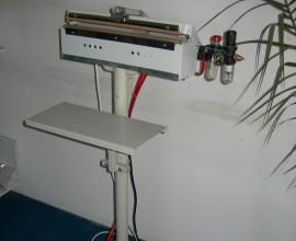Pnömatik  Ayaklı Plastik Kaynak Makinesi