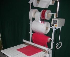 Plastik Naylon Rulo Kesme Yapıştırma Makinesi