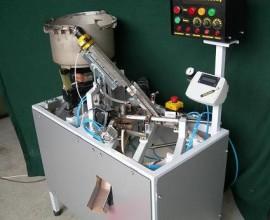Serum Torbası Kelebek Büzme Otomatik Makinesi (videosunu izleyebilirsiniz )