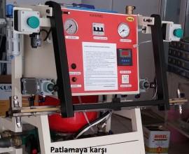 Sıcak Su Çene -  Güvenlik amaçlı sıcak su ısıtmalı basınçlı havalı kapatgeç
